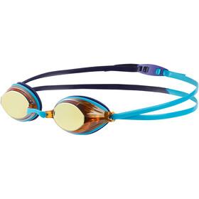 speedo Vengeance Mirror Goggles Unisex, turquoise/ultramarine/copper